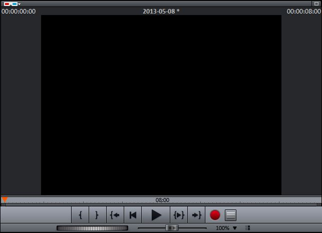 Video Deluxe Vorschaumonitor