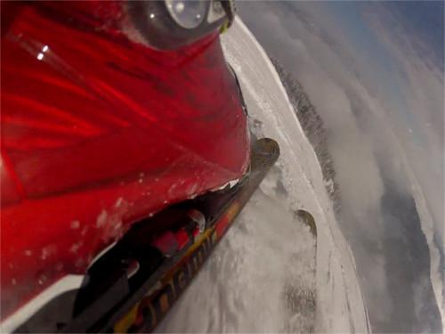 GoPro am Skischuh