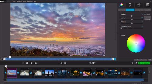 MAGIX Fastcut Screenshot