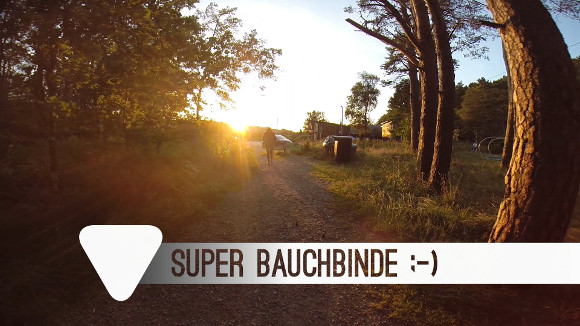 Bauchbinde aus Video deluxe 2016