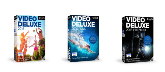 Video deluxe 2016 Packshots