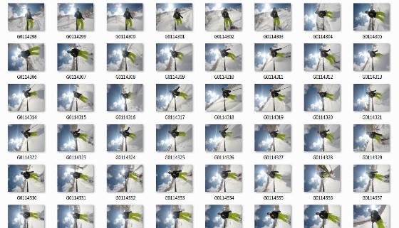 GoPro Fotos mit Zeitraffer