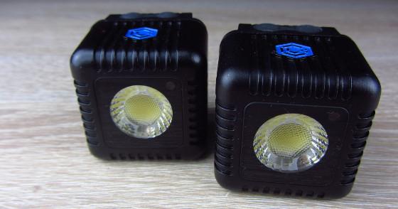Zwei Lume Cubes